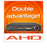 "Double advantage of ""Proto-X"" AHD video recorders"