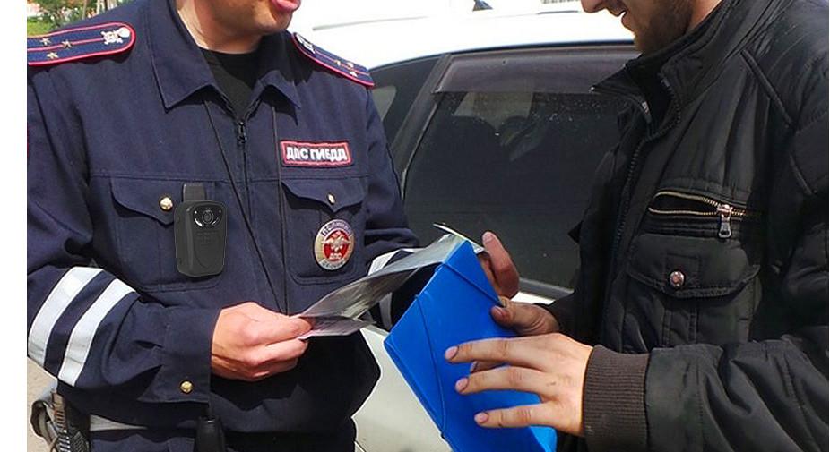Носимый регистратор для полиции